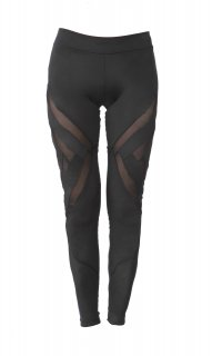 ANGEL LEGGINGS - BLACK/BLACK