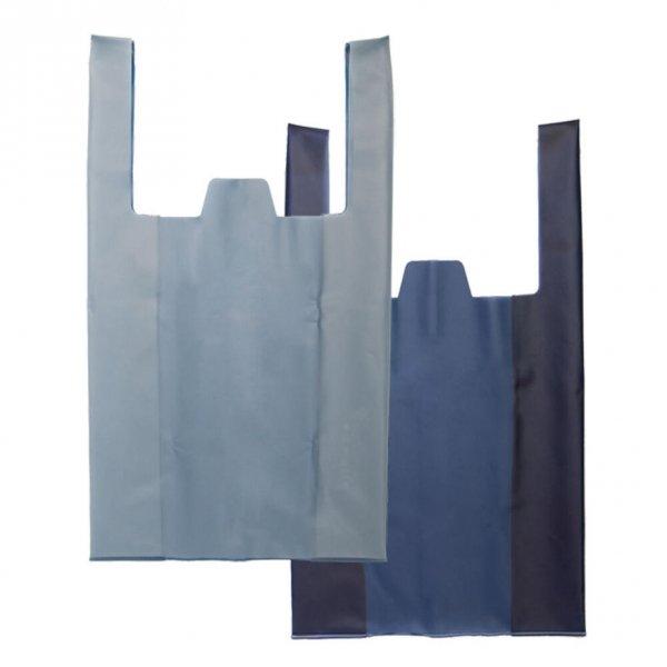 DAILY SHOPPER / Blue Gray × Navy