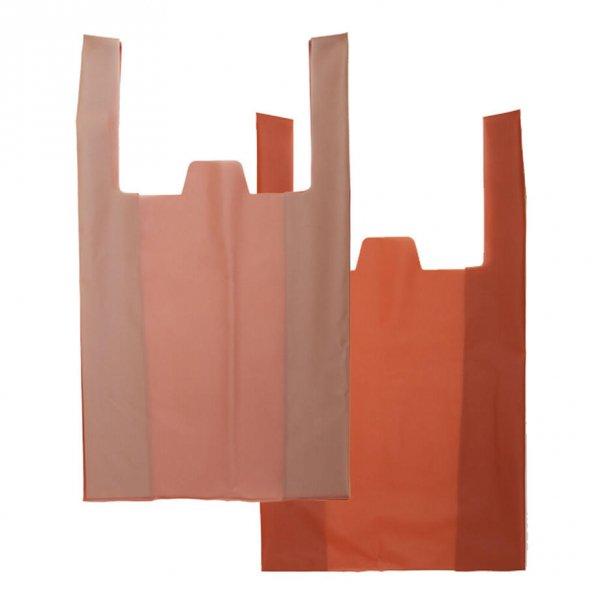 DAILY SHOPPER / Pale Orange × Terracotta