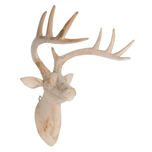 WOOD ANIMALHEAD / Deer