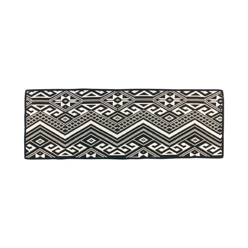 INDIAN RUG / Kitchen (Black)