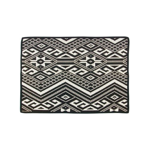 INDIAN RUG / Entrance (Black)