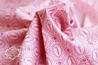アメリカ直輸入★Button & Scissors ピンク