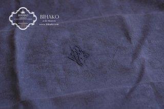 フランス直輸入♪Antique Linen エンブレム刺繍