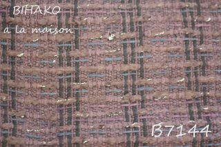 SALE<25cm単位>♪LINTONツイード オーベルジン B7144