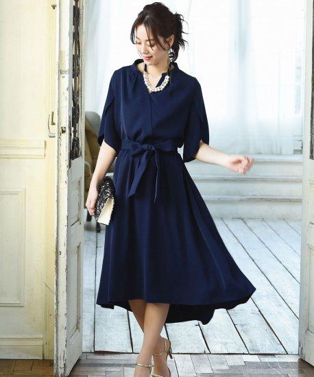 0d5ff45192f01 デザインスリーブフレアスカートセットアップ「U623」|パーティドレス通販-結婚式ワンピース セレブドレスならRUIRUE BOUTIQUE