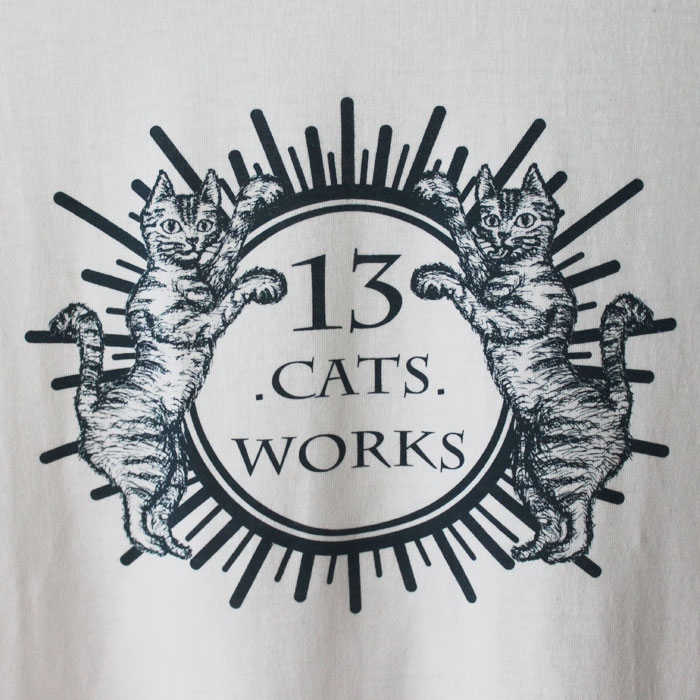 13.CATS.WORKSオリジナルTシャツ(OLD CATS)<br />