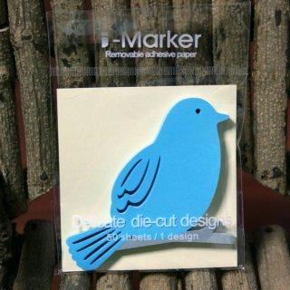 付箋--青い鳥--