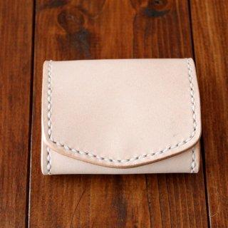 ヌメ革 ボックス型コインケース