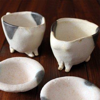 猫の集会-ぶち猫マグカップ&豆皿セット