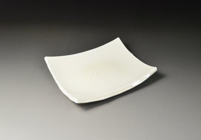 白磁長角皿