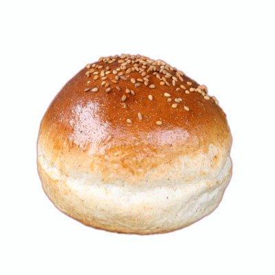 ハンバーガー用グラハムバンズ《ゴマ付》レギュラー直径10cm【冷凍出荷】