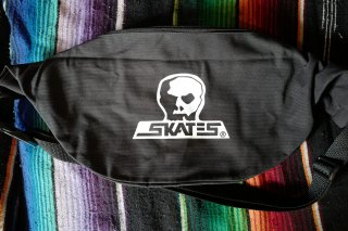 SKULL SKATES CANVAS SHOULDER BAG