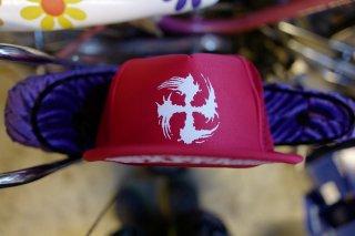SUGI-MANJI/NFKFFNFK MESH CAP RED