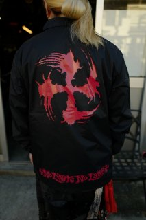 SUGI-MANJI WIND BREAKER BLACK/RED