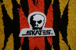 SKULL SKATES LOGO DIE-CUT PATCH