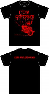 ESOW T-SHIRTS BLACK/RED