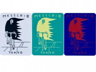 MESS CRIB TOKYO STICKER 3 COLORS SET