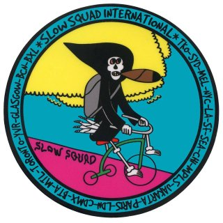 TRICYCLE RIPPER STICKER SET OF 3