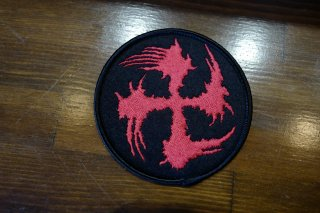 SUGI-MANJI PATCH 80mm RED