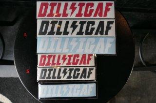 DILLIGAF STICKER SIZE: L