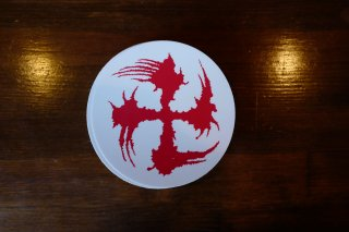 SUGI-MANJI STICKER RED/WHITE