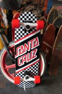Santa Cruz Street Skate Cruzer Complete - Black/White Checker 8.79x29.05