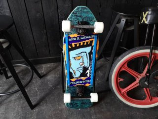 Vision Grigley Mini II Re-Issue Complete - Blue Stain 9.25x29.5