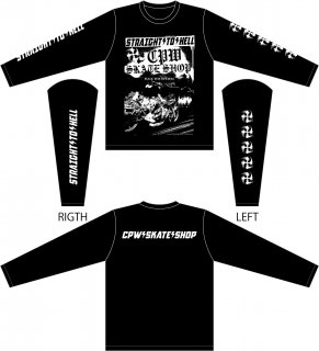 STRAIGHT TO HELL LONG SLEEVE T-SHIRTS