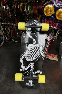 Skull Skates Horse Skeleton Single Kick Deck COMPLETE
