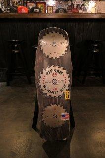 Schmitt Stix RipSaw Re-Issue Concave Deck - Black Stain 10x30
