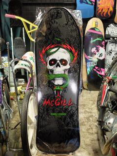 POWELL PERALTA LTD BONES BRIGADE MIKE McGILL RE-ISSUE 9.75