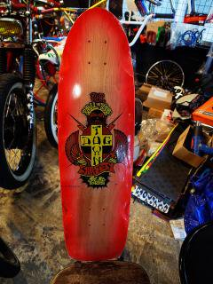 DOGTOWN HAND-SPRAYED BY REDDOG TAIL TAP LTD  8.38