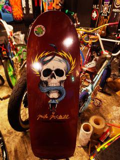 POWELL PERALTA MIKE McGILL SKULL SNAKE BURGUNDY  10