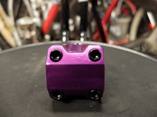 50mm ALLOY STEM PURPLE