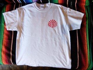 旭日CPW T-SHIRTS WHITE/RED