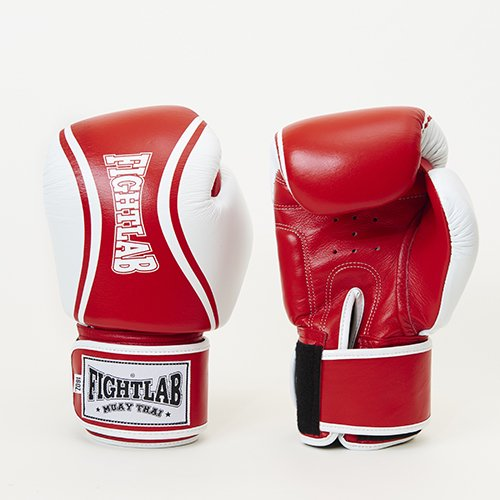 flo boxing gloves red white 16oz fightlab japan