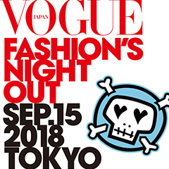 Vol204:VOGUE FASHION'S NIGHT OUT 2018 x RUDE Jingumae