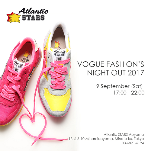 Vol.135:VOGUE FASHION'S NIGHT OUT 2017に参画します!