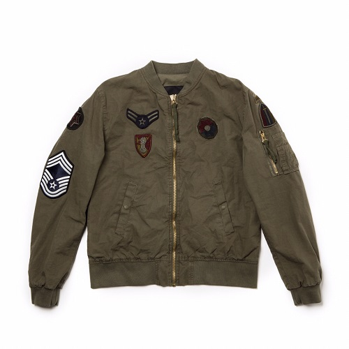 Barbed(バーベッド)|BOMBER GREEN WITH PATCH