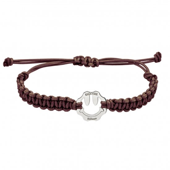 DEXTER milano/デクスター ミラノ|Symbol bracelet SMILE-Brown A25