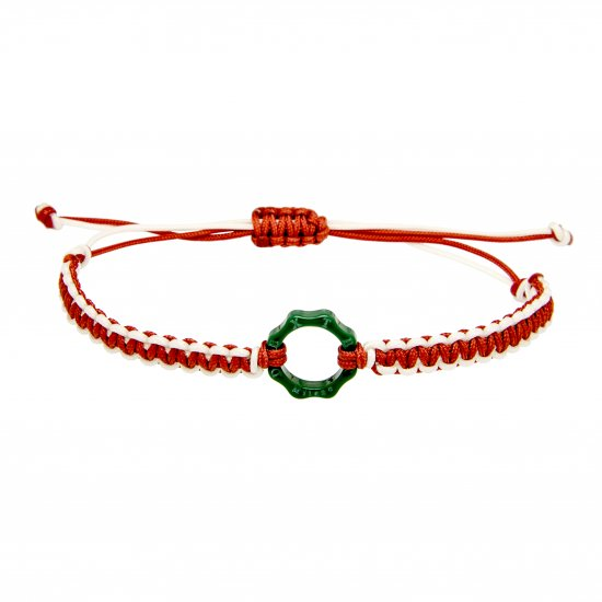 DEXTER milano/デクスター ミラノ|Mini Plexy Time Machine bracelets-green and red and white