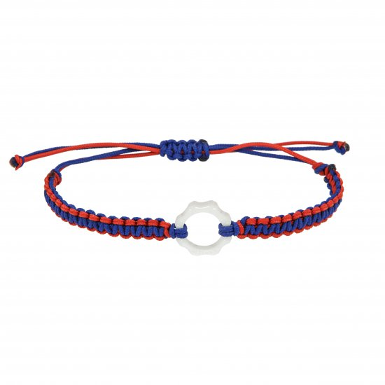 DEXTER milano/デクスター ミラノ|Mini Plexy Time Machine bracelets-white and red and blue