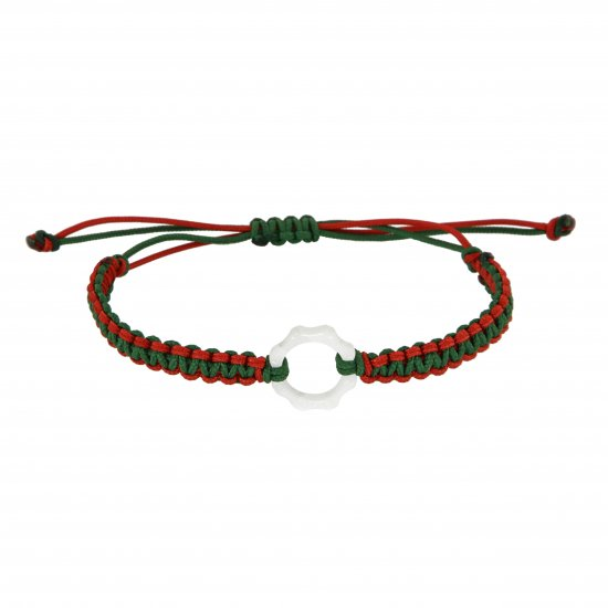 DEXTER milano/デクスター ミラノ|Mini Plexy Time Machine bracelets-white and red and green