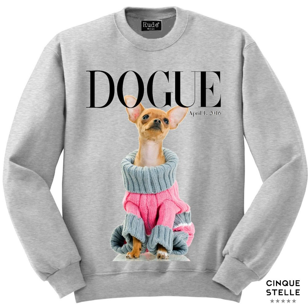 RUDE ルード |Fel DOGUE-LIGHT GRAY