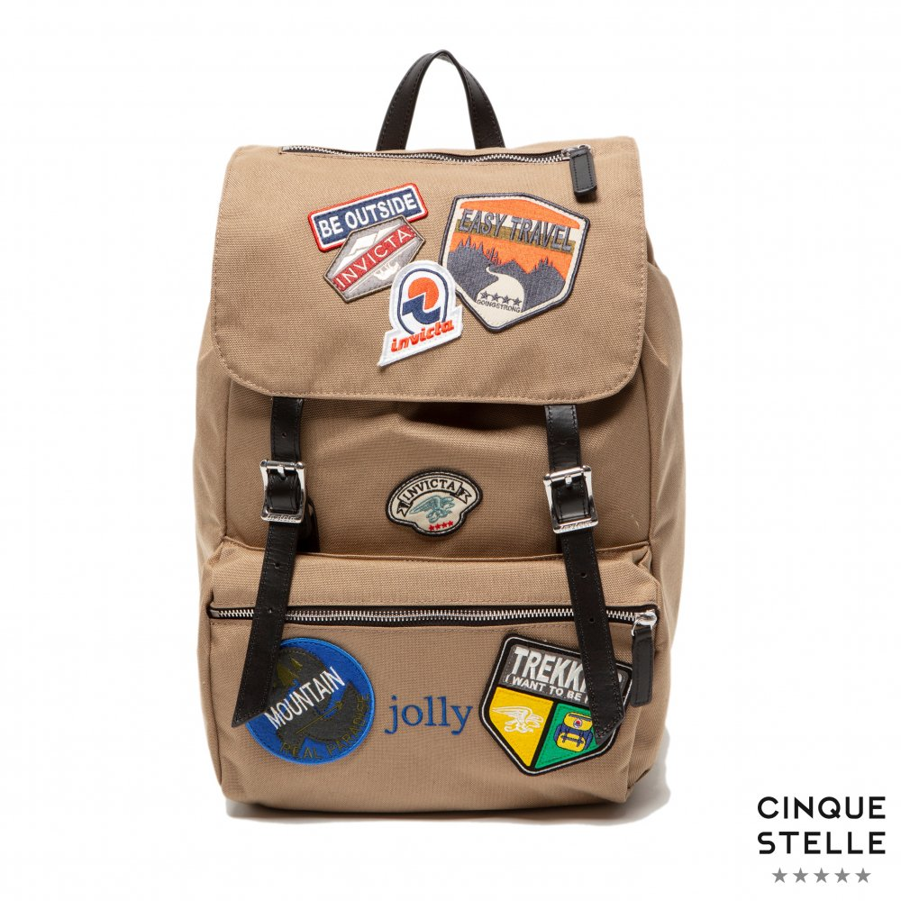 invicta インビクタ HERITAGE JOLLY PATCH-BEIGE