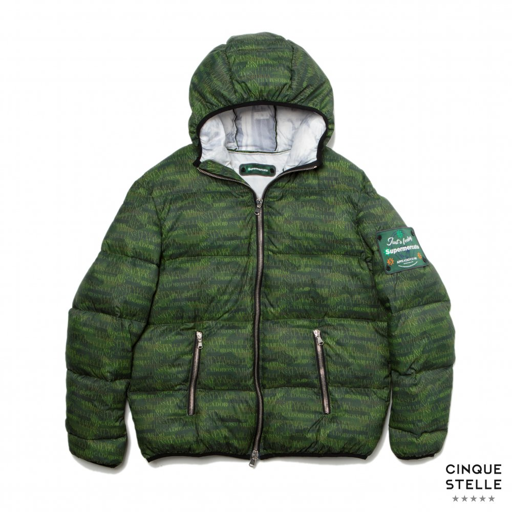 Supermercato スーペルメルカート|SUA19-DOWNJACKET-GREEN | UNISEX