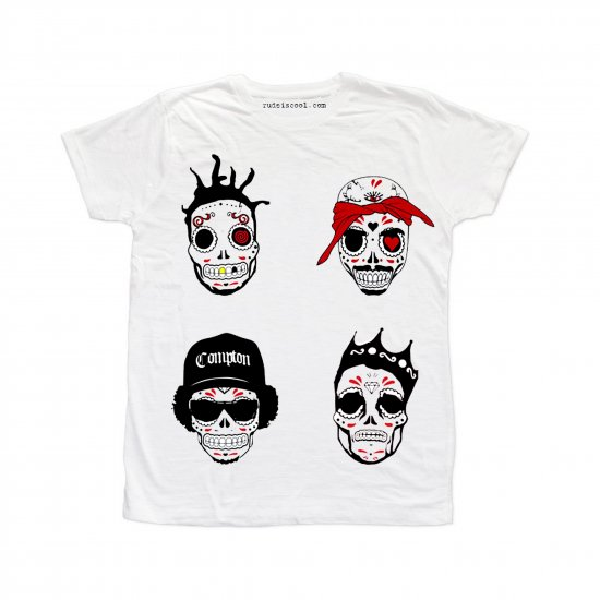 <img class='new_mark_img1' src='https://img.shop-pro.jp/img/new/icons16.gif' style='border:none;display:inline;margin:0px;padding:0px;width:auto;' />RUDE ルード | Rap Skull-WHITE  | MEN