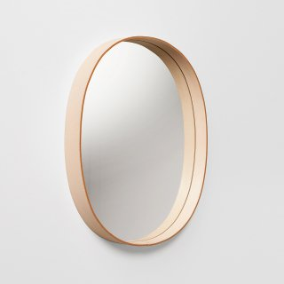 OVAL MIRROR (ナチュラル)<img class='new_mark_img2' src='https://img.shop-pro.jp/img/new/icons5.gif' style='border:none;display:inline;margin:0px;padding:0px;width:auto;' />