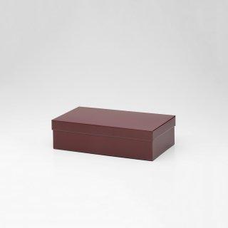 TIN BOX (Mサイズ / バーガンディ)